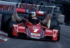 Cralos Reutemann . Watch the air intake?!