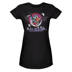 Regular Show Mordecai and the Rigby's Women's Fitted Black T-Shirt | CartoonNetworkShop.com