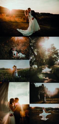 Fotoideen für traumhafte Hochzeitsfotos zur Goldenen Stunde.   Fotografen von www.wildweddings.de Couple Shoot, Golden Hour, Connection, Wedding Decorations, Inspiration, Couples, Weddings, Photography, Painting