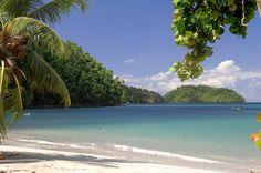 Vue sur l'ilet Ramier Anse à l'âne - Martinique - French Caribbean Island