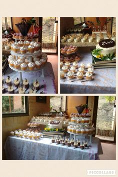 Math dessert table.