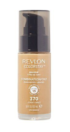 Revlon Colorstay Makeup Foundation Pump - 370 Toast *** This is an Amazon Affiliate link. Want additional info? Click on the image.