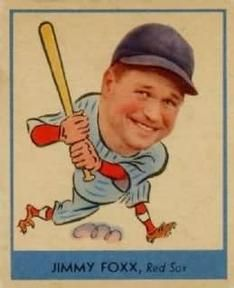 1938 Goudey Heads-Up Jimmie Foxx