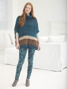 Woodbridge Poncho (Crochet)