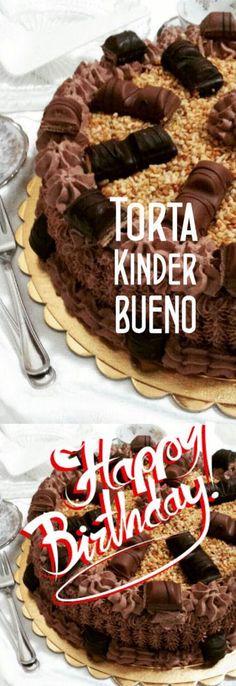 Torta Kinder Bueno