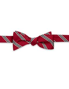 Brooks Brothers Silk Multi-Striped Tie Men's Red