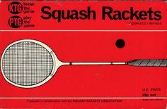 Vintage squash racquets advert.