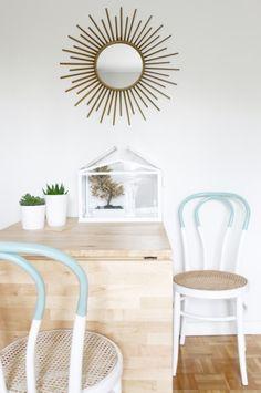 Cómo adapté al estilo nórdico de mi casa unas sillas estilo thonet