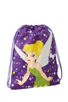 Disney Wonder - TinkerBell Gymbag #Disney #Samsonite #TinkerBell #Travel #Kids #School #Schoolbag #MySamsonite #ByYourSide