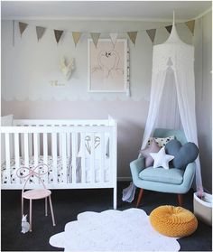 Michelle - Blog #Nursery and other #news! Fonte: http://www.thebooandtheboy.com/2015/10/kids-rooms-on-instagram_7.html