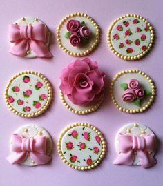 Galeria de cupcakes #21 - Cupcake toppers