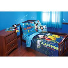 Kids, Toddlers, 4 Piece Toddler Bedding Comforter Set