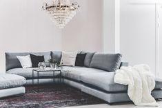 Decor, Living Room Interior, Room Goals, Furniture, Sectional Couch, Dream Rooms, Interior Design, Home Decor, Living Room Furniture