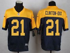 Nike Green Bay Packers #21 Ha Ha Clinton-Dix Yellow Blue Elite Jersey $ 24.5
