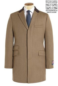 British Fabric Taupe Covert Coat from Next