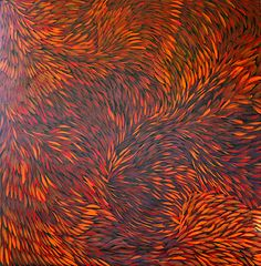 Australian Indigenous Aboriginal ~ Gloria Petyarre ~ Bush Medicine (view on zoom)