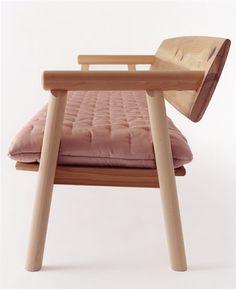 Romecchio sofa, Hida series, Hida Sangyo Co. Ltd. Enzo Mari.