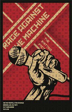Rage Against the Machine - artist unknown - 2010