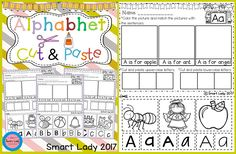 Your students will have fun learning to write their letters with this 3 page packet of activities. Each page represents a letter of the alphabet and has many opportunities for students to practice letter formation and writing their letters. A picture is also included on each page for the students to color, Enjoy!