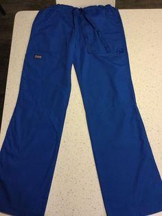 Cherokee Workwear Scrubs Pull On Cargo Pant 4200 Surgical Green elastic waist