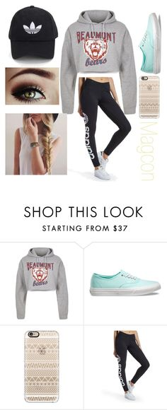 """Jordan's Six Flags"" by emmagrayy on Polyvore featuring River Island, Vans, Casetify and adidas Originals"