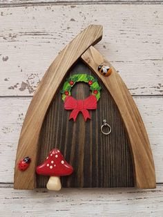 Welcome to RachaelsFairyDoors.com We are a small family run business, working hard to bring a little joy and magic into the homes all around the world. All of our doors are hand painted and decorated by us. With hours of care, imagination and sparkle poured into each one. The