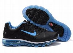 Nike Air Max 2011 Men's Running Shoe Black/Blue 456325 006