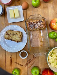 Apple Fritter Bread, Apple Bread, Apple Fritters, Fried Apples, Best Breakfast Recipes, Country Cooking, Zucchini Bread, Bread Recipes, Patches
