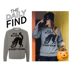 """The Daily Find: Pyknic Sweatshirt"" by polyvore-editorial ❤ liked on Polyvore featuring Pyknic and DailyFind"