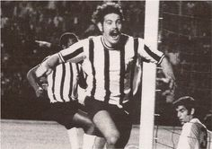 """Roberto Rivellino (also Rivelino), born 1 January 1946, Brazilian international attacking midfielder (1965-1978), Corinthians (1965–1973), Fluminense (1973–1978), Al-Hilal (1979–1981). Rivellino was a key member of Brazil's 1970 FIFA World Cup winning team, which is often cited as the greatest-ever World Cup team. Deployed on the left side of midfield, he scored 3 goals, including the powerful free-kick against Czechoslovakia, which earned him the nickname """"Patada Atómica"""" (Atomic Kick) by…"""
