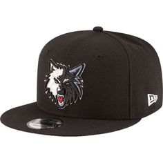 New Era Men's Minnesota Timberwolves 9Fifty Adjustable Snapback Hat, Team