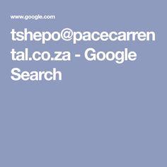 tshepo@pacecarrental.co.za - Google Search