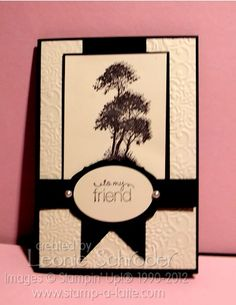 Stampin Up. Bad photo but nice layout