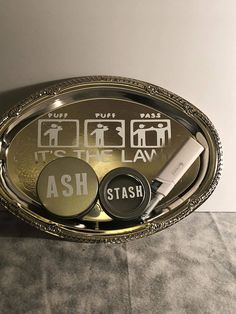 Rolling tray, weed tray, magnetic lighter,ash and stash. by Arnolsplundipity on Etsy Diy Resin Tray, Resin Crafts, Diy Crafts, Stoner Art, Stash Jars, Puff And Pass, Sticker Ideas, In Case Of Emergency