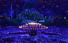 London Olympic Games 2012, beautifully designed flame