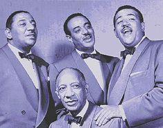 The Mills Brothers -- Paper Doll, Marie, Glow Worm, Daddy's Little Girl