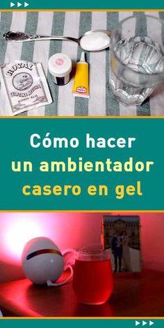 #ambientador #casero en #gel. #Tutorial #DIY #hogar #aroma