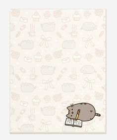 Writer Pusheen notepad (want! Stationary Printable, Printable Planner, Planner Stickers, Printables, Kawaii Chibi, Kawaii Cute, Kawaii Anime, Planner Decorating, All Things Cute