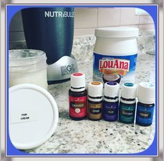 AMAZING pain cream! One cup coconut oil, 25 drops Panaway, 25 drops Copaiba, 15 drops Valor, 15 drops Lemongrass and 15 drops Peppermint. Works WONDERS  for my lower back pain and sciatica. #younglivingessentialoils