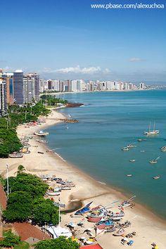 Enseada do Mucuripe, Beira-Mar de Fortaleza - Ceara - BRASIL