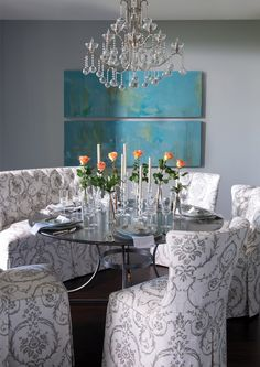 Eclectic Dining Room Chairs