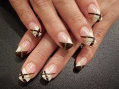 ブラウンチェック★ネイル の画像|Nails Heart(ネイルズ・ハート) スタッフの毎日日記