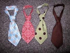 Newborn Little Boy Necktie Pattern and Tutorial