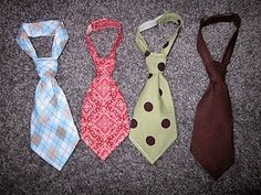 newborn necktie...make for baby shower gifts!