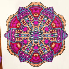 NIkki (@insomniac_coloringaddict) | Number 2 done overnight. #insomnia #markers #bright #markers #cool #mandala #sharpie #creativesecrets #creativelycoloring #majesticcoloring #beautifulcoloring #doodlingworld #beautifulcoloring #arttherapy #arttherapie #coloring #colortherapy #adultcoloring #adultcolouring #adultcoloringbook #grownupcoloring #grownupcoloringbook | Intagme - The Best Instagram Widget