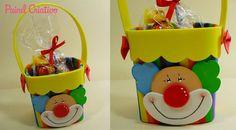 modelo payaso souvenirs cumpleaños de los niños Día EVA cartón de leche alrededor de los estudiantes de las clases de la escuela de reciclaje (1)
