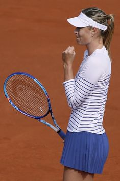 French Open 2015   first round   Maria Sharapova Official Website