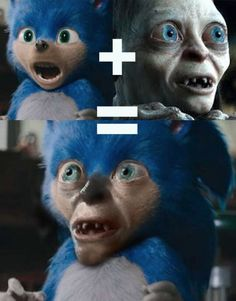 """These 'Sonic' Movie Edits Are Horrifying But Still Better Than The Real Thing - Funny memes that """"GET IT"""" and want you to too. Get the latest funniest memes and keep up what is going on in the meme-o-sphere. Memes Estúpidos, Movie Memes, Stupid Funny Memes, Wtf Funny, Hilarious, Funniest Memes, Funny Humor, Movie Tv, Funny Images"""