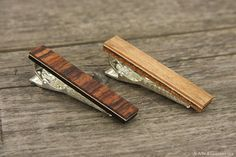 wooden tie clip, gifts for men, mens accessories, gift for dad Fancy Tie, Wooden Tie, Tie Clips, Different Styles, Gifts For Dad, Jewerly, Hair Accessories, Diy Crafts, Trending Outfits