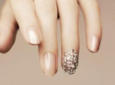 jeweled nails!